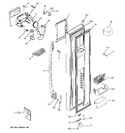 Diagram for 1 - Freezer Door