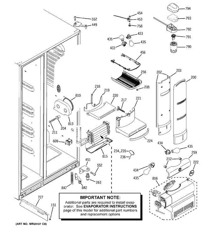 Diagram for PCF25MGWCWW