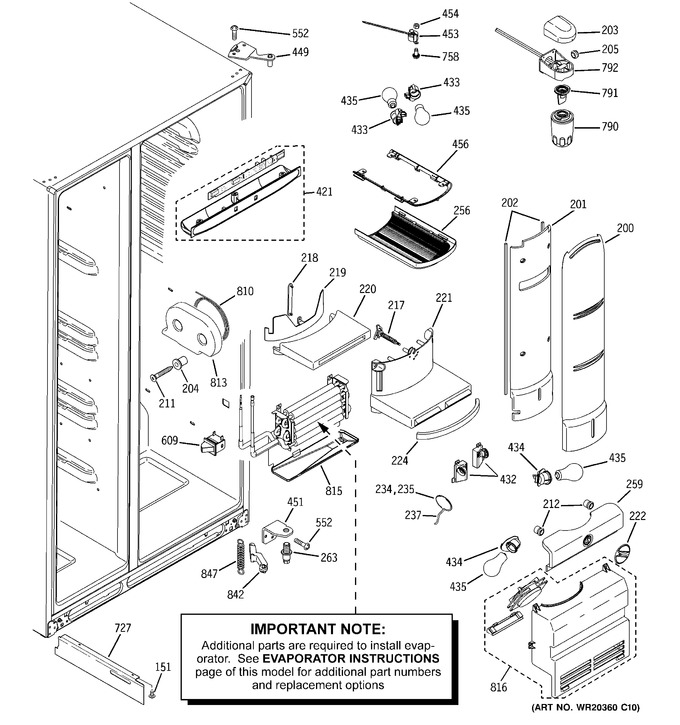 Diagram for PHE25MGTJFBB