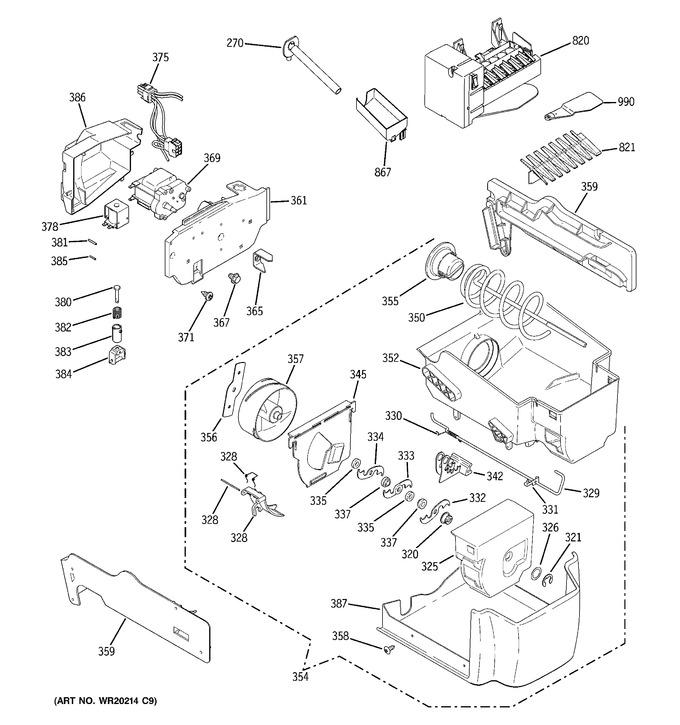 Diagram for GSHF6PGYAEWW