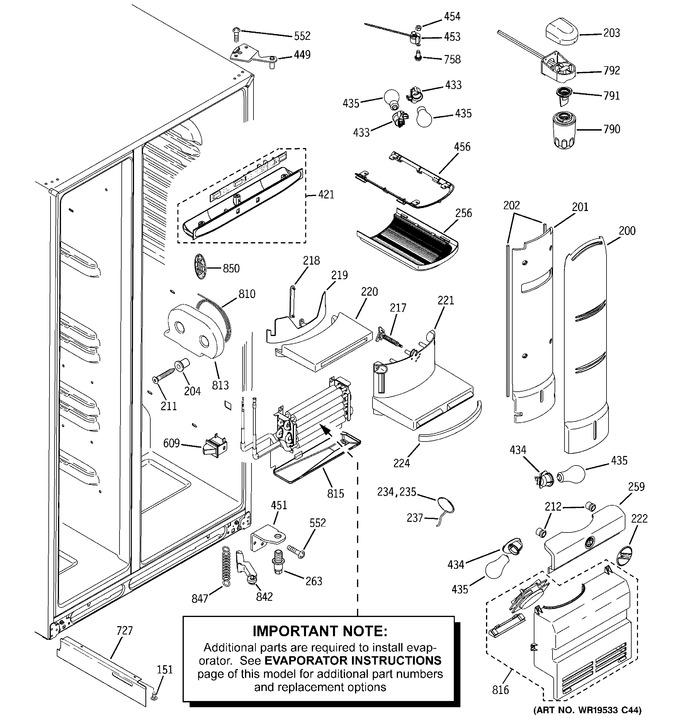 Diagram for PHE25PGTBFWW