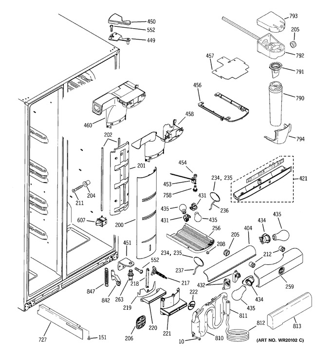 Diagram for PSC23NSWASS