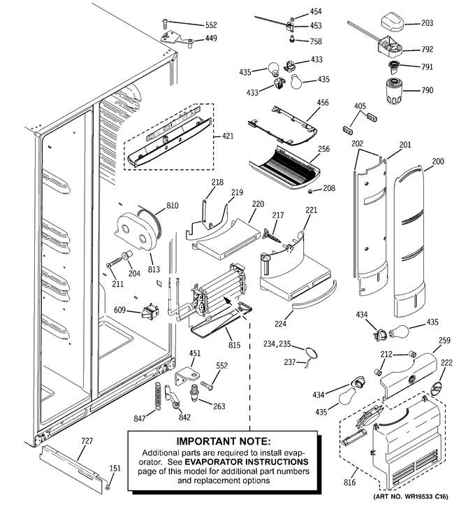 Diagram for PHE25MGTAFBB