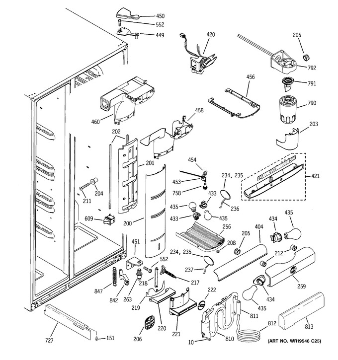 Diagram for PSS26NHSCWW