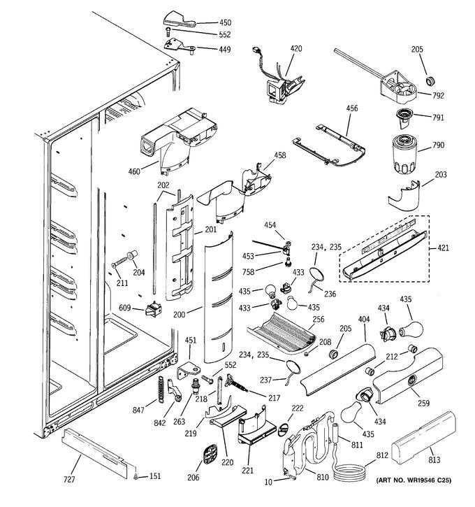Diagram for PSF26NGTABB