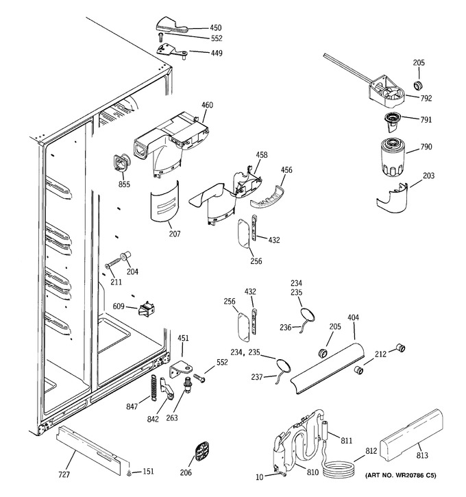 Diagram for DSE26JGEBCWW