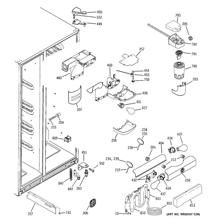 Diagram for GSF26KHWABB