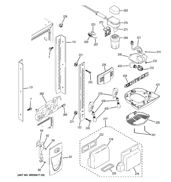 Diagram for GNS23GGHBFWW