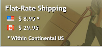 Flat Rate Shipping - Within Continental US